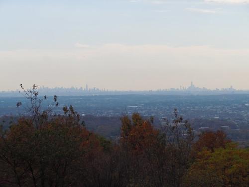 NYC Skyline from Summit High Mountain
