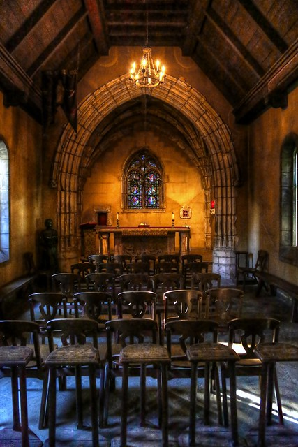 St Joan of Arc Chapel Interior