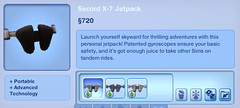 Secord X-7 Jetpack