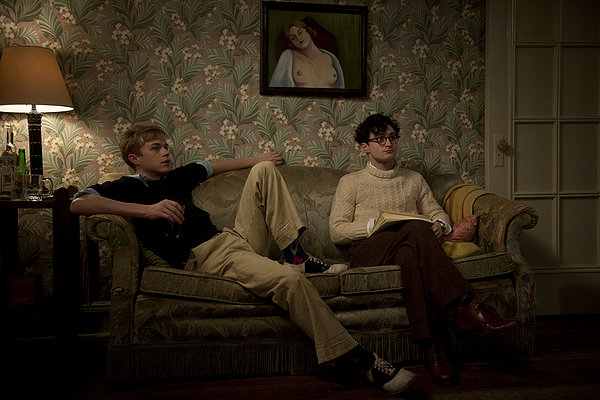 Dane DeHaan and Daniel Radcliffe have a complicated relationship in KILL YOUR DARLINGS.