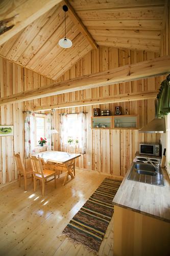 40 m2 kotedža no iekšpuses, Östveda