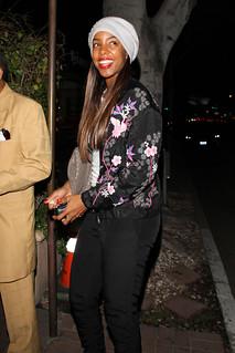 Kelly Rowland Floral Bomber Jacket Celebrity Style Women's Fashion