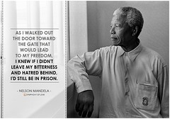Nelson Mandela As I Walked Out The Door Toward The Gate Flickr