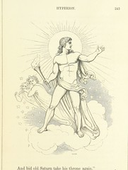 """British Library digitised image from page 305 of """"The Poetical Works of John Keats. With a memoir by Richard Monckton Milnes. Illustrated by 120 designs, original and from the antique, drawn on wood by George Scharf, Jun"""""""