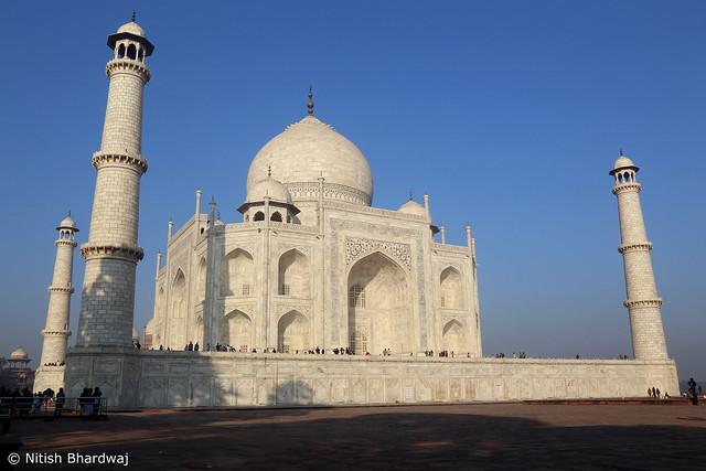 White of the whites - The Taj Mahal