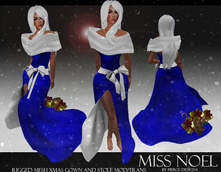 miss noel blue by fierce designs
