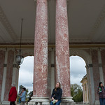 Emily sleeping at the Grand Trianon, Versailles