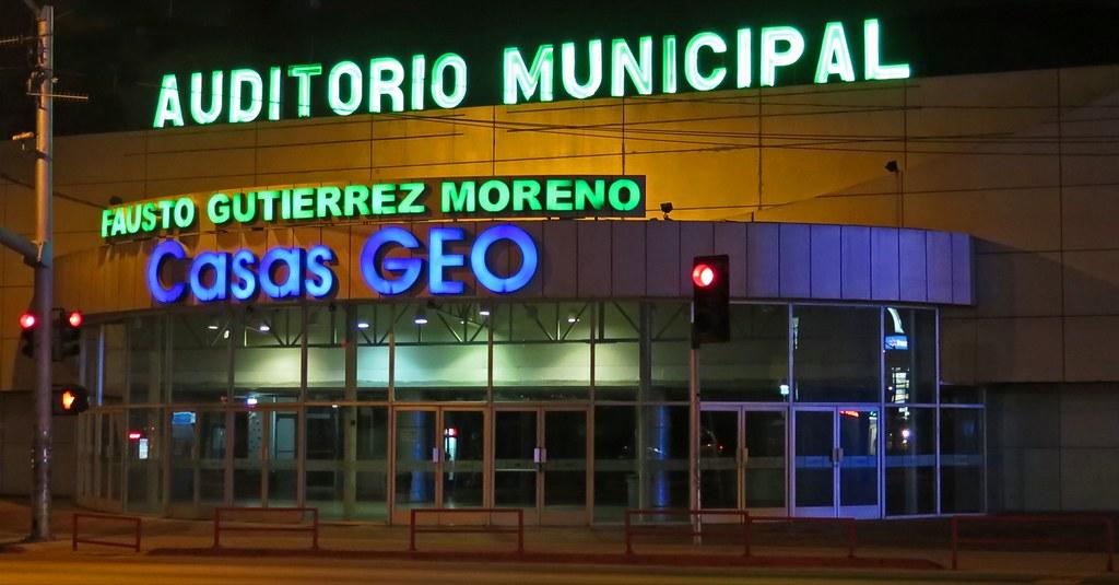 Auditorio Nacional Tijuana Auditorio Municipal de Tijuana