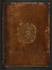 Armorial stamped binding of  Vergilius Maro, Publius: Aeneis [English]. Eneydos