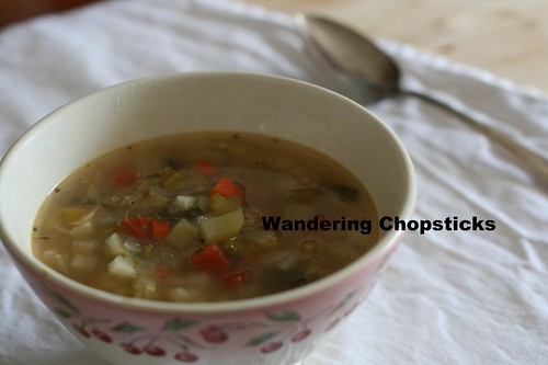 Turkey Quinoa Vegetable Soup 21