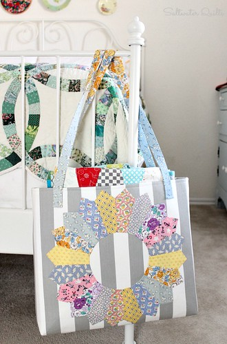Dresden Quilt Tote