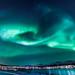 Aurora Borealis over Sørreisa, Norway. (Explored at no 8) by Bhalalhaika
