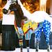 Small photo of Yandex's horse