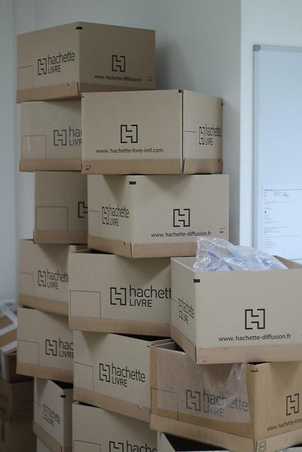 Cartons Hachette Distribution - PoD Hachette Maurepas