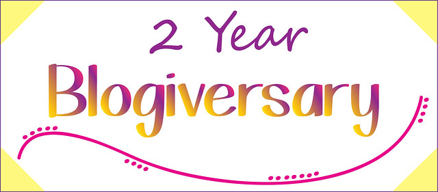 2 Year Blogiversary
