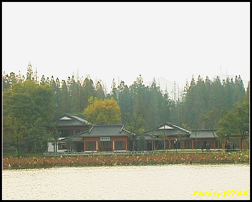 杭州 西湖 (其他景點) - 250 (在西湖十景之 蘇堤上望向西湖十景之 曲婉風荷)