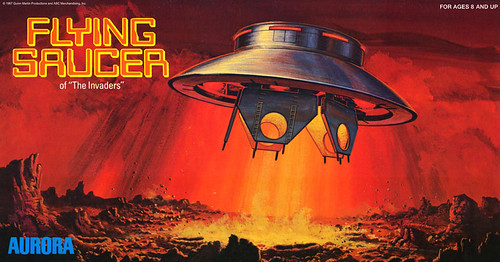 Flying Saucer from THE INVADERS