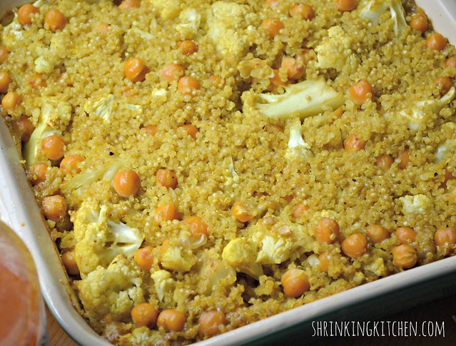 curried quinoa bake 2