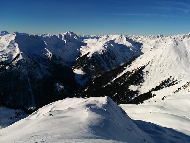 Gipfelblick Hoher Mann 2.593 m, Gsiesertal