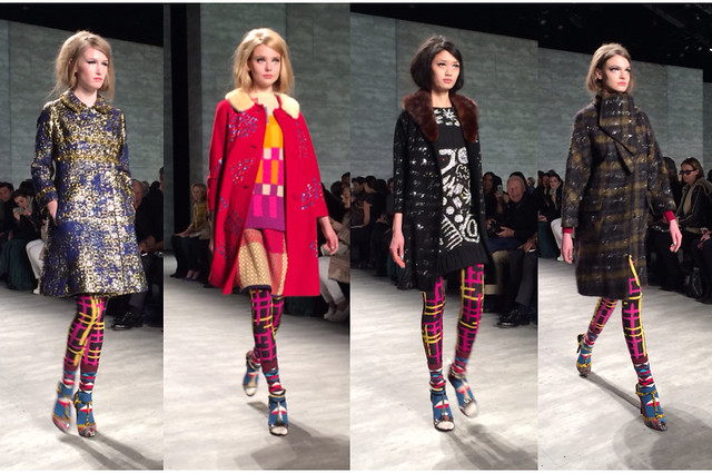 Libertine Mercedes Benz New York Fashion Week NYFW February Fall/Winter 2014 runway show