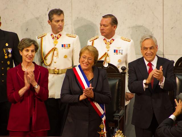 Michelle Bachelet asume como Presidenta