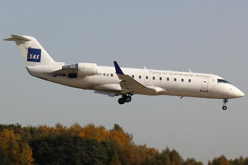 SAS Cimber - CRJ1 - OY-RJI
