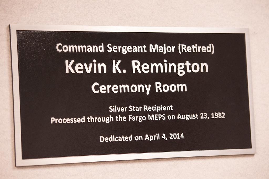 Remmington MEPS Room Dedication   Flickr