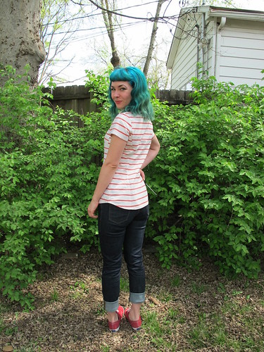 Butterick 5526 - stripes!