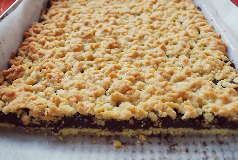 Poppy seed shortcake