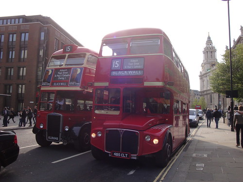 Ensignbus RTL453 and RMC1485 on Route 15, St Paul's