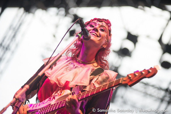 Kate Nash @ Coachella 2014 Weekend 2 - Friday