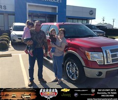 Congratulations to Carl Harrelson on your #Ford #F-150 purchase from Dewayne Aylor at Four Stars Auto Ranch! #NewCar