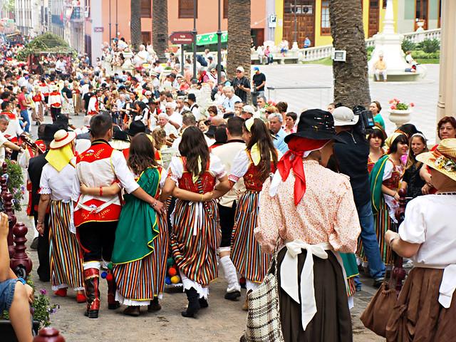 Traditional costumes, Romeria San Isidro, La Orotava, Tenerife
