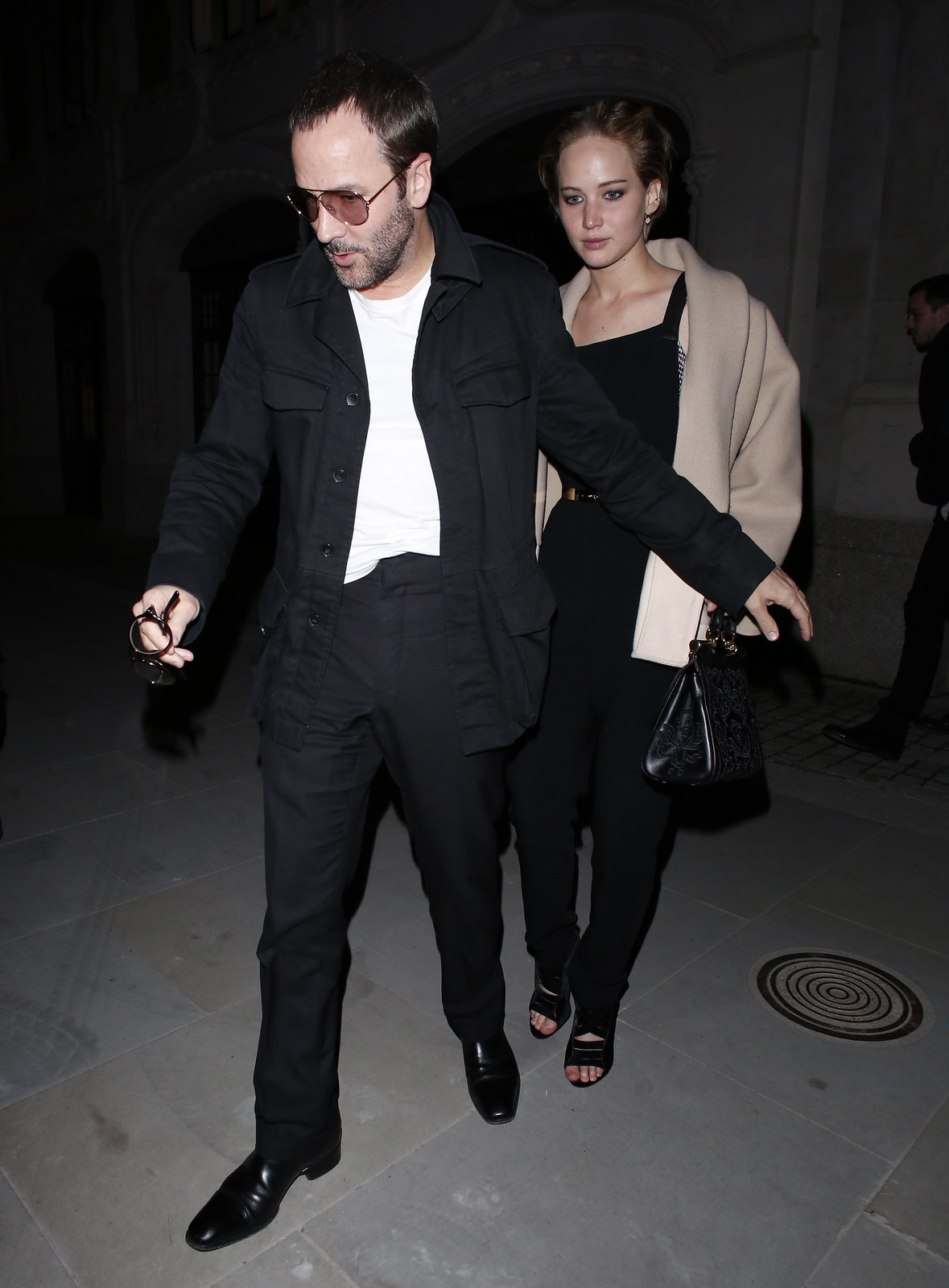 ce6648e504c9 Jennifer Lawrence enjoys night out with Tom Ford and her beau ...