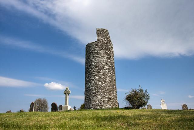 Old Kilcullen round tower