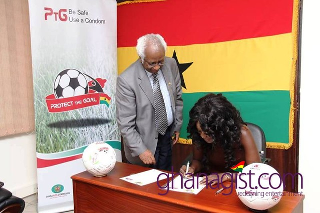 Actress Nana Akua Addo join UNAIDS' Protect the Goal campaign