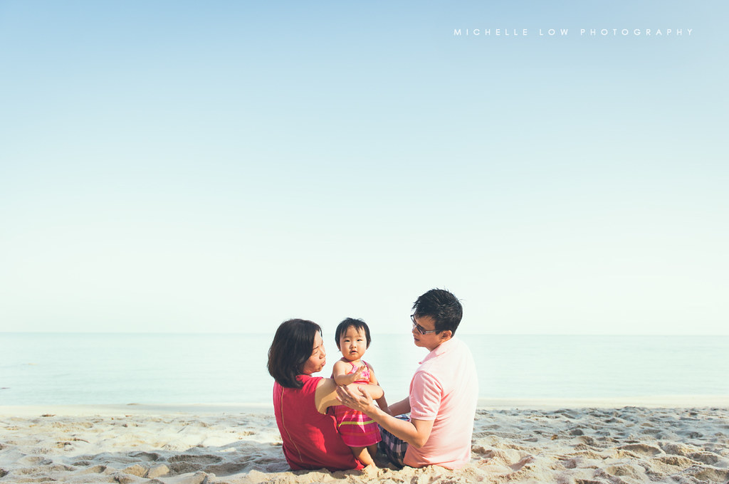 {Family Portrait} A photo-outing by the Penang beach