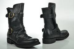 outdoor shoe(0.0), limb(0.0), human body(0.0), footwear(1.0), leather(1.0), motorcycle boot(1.0), boot(1.0),