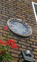 Photo of Antonio Canal blue plaque