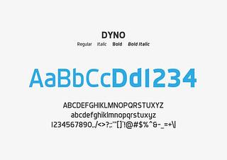 Typeface for logo NII