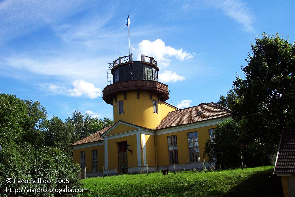 Observatorio de Tartu. © Paco Bellido, 2005
