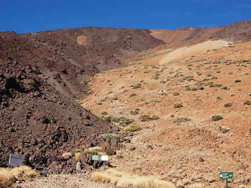 Climbing Mount Teide, Teide National Park, Tenerife