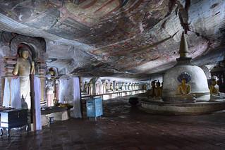 Sri Lanka. Dambulla. Rock Temple. Cave II. Maharaja Viharaya.