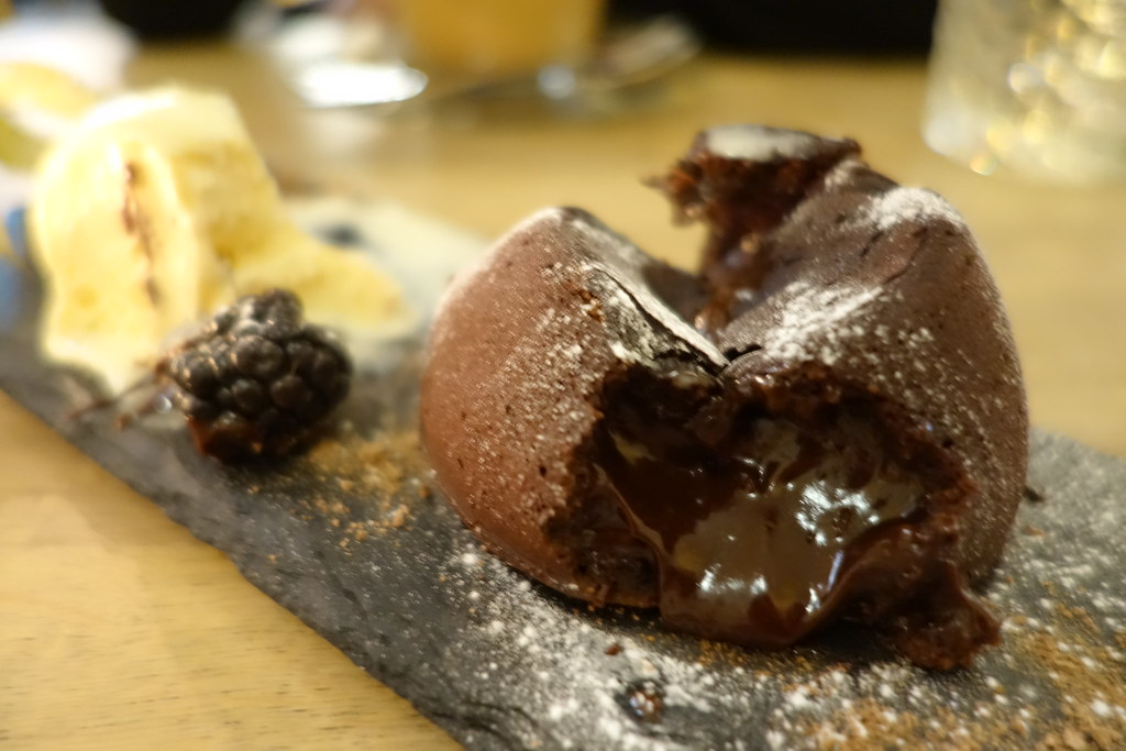 Forge & Co, Shoreditch: Chocolate Fondant