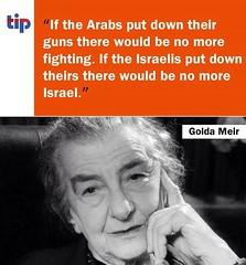 Wisdom from Golda Meir
