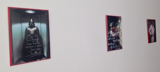 The Wall of Fame at the Hotel Riquet, Toulouse