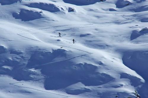 ski snowshoe rando grange skieur cabane pyrénées pirineos ariège troisseigneurs étable couserans pastoralisme goutets bourdaous courtal hameaupastoral