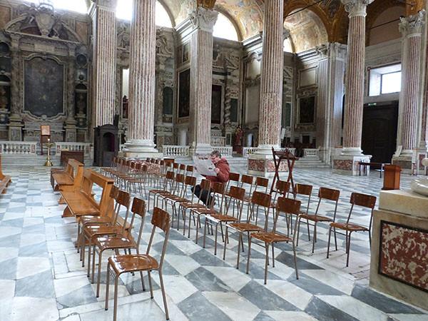 philippe dans la basilique