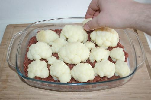 33 - Blumenkohl auflegen / Add cauliflower