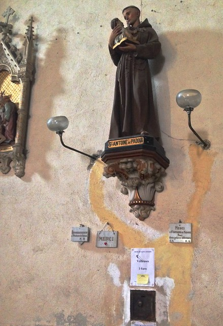 Saint Anthony of Padua in Montolieu